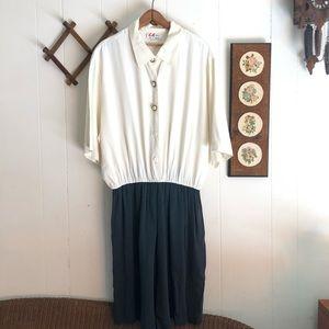 Vintage Short Suit Romper